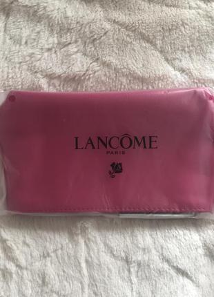 Новая ярко розовая косметичка lancome