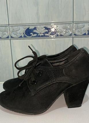 Туфли демисезонные.37 р.