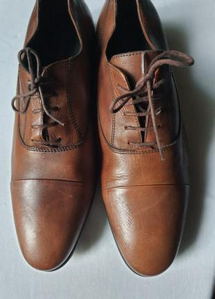 Франция. стильные туфли мужские andre 42 р. полностью кожа