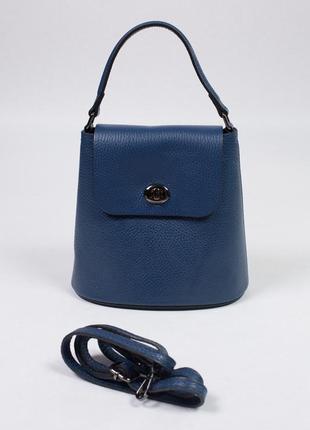 Стильная сумка из натуральной кожи производства италия