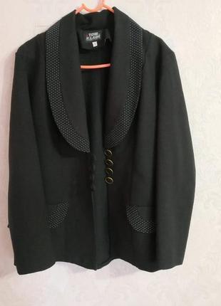 Пиджак легкий, чёрный