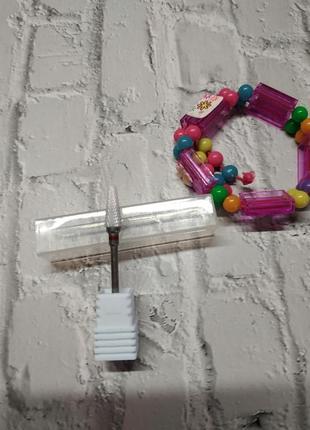 Фреза для снятия гель лака геля ногтей маникюра