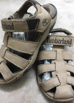 Босоножки,сандали кожаные мал.28р.timberland вьетнам