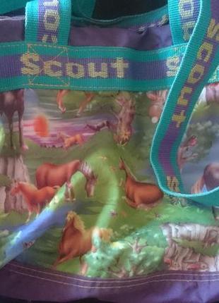 Сумкка спорт детская scout.