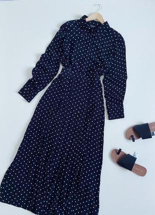 Сукня міді з розрізами