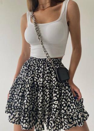 Красивая пышная юбка