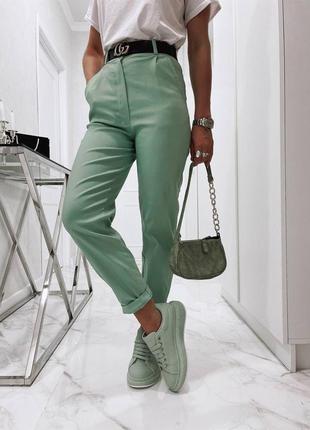 Ультрамодные джинсы с защипами