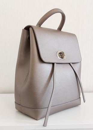 Рюкзак небольшой городской активный бронза для девушек и женщин