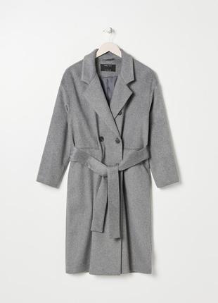 Пальто миди прямое