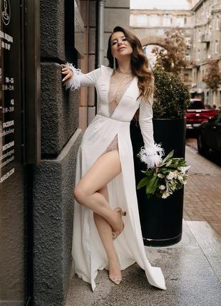 Шикарное платье 🤩👑🤍