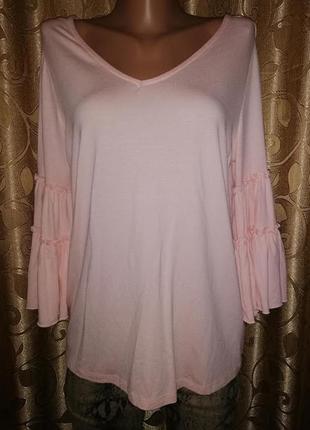 🌺🌺🌺красивая женская трикотажная кофта, блузка f&f🌺🌺🌺