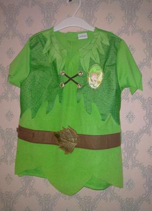 Карнавальный костюм питер пэн для мальчика