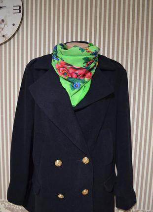 Шикарное демисезонное пальто от atmosphere в идеальном состоянии
