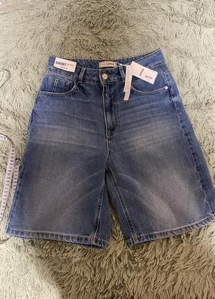 Хит 2021 джинсовые шорты бермуды. мом .. mom bermudez pimkie
