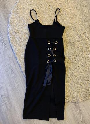 Сукня на бретельках boohoo