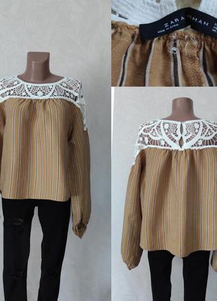 Льонова блуза - zara