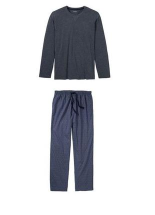 Мужская пижама livergy m, l, xl, xxl2 фото