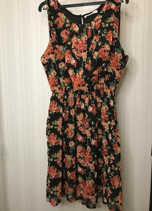 Идеальное трендовое платье цветы