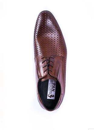 Полностью натуральная кожа 40-45 элитные туфли pan польша