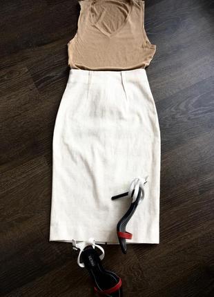 Ermanno scervino оригинал, юбка с завышенной талией
