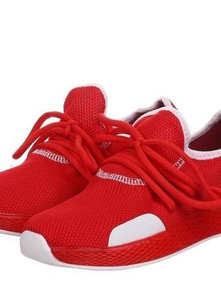Красные спортивные текстильные кроссовки marguiiz размер 37