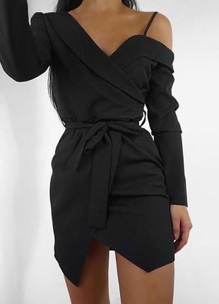 Вечернее платья-пиджак