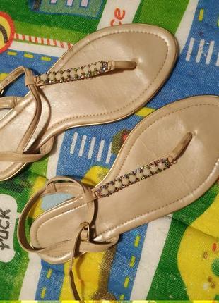 Сандали босоножки сланцы летняя обувь вьетнамки