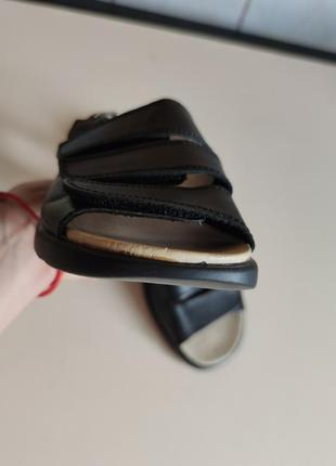 Стильные кожаные босоножки 41 ортопедические6 фото