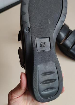 Стильные кожаные босоножки 41 ортопедические8 фото