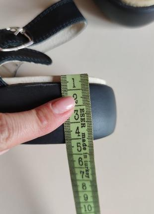 Стильные кожаные босоножки 41 ортопедические9 фото
