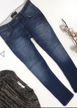 Идеальные базовые синие джинсы zara