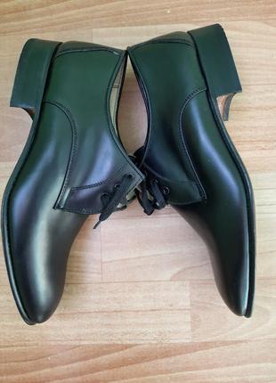 Кожаные туфли италия6 фото