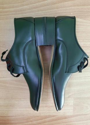 Кожаные туфли италия4 фото
