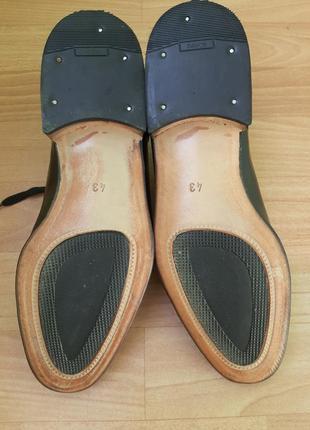 Кожаные туфли италия3 фото