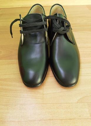 Кожаные туфли италия5 фото