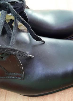 Кожаные туфли италия8 фото