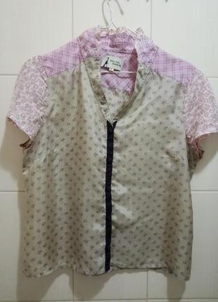 Noa noa: шелковая блуза от датского бренда