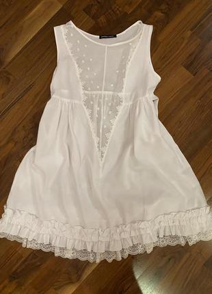 Платье пляжная туника