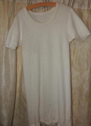 Ангоровая туника-платье - mit angora