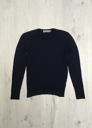 Шерстяной джемпер / свитер calvin klein оригинал 100% шерсть