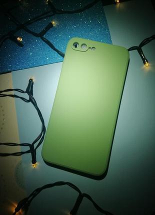 Новый силиконовый чехол на айфон iphone 7plus/8