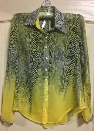 Блузка под рисунок змеи