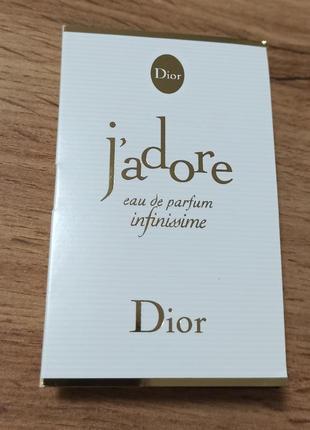 Dior j'adore infinissime парфюмированная вода