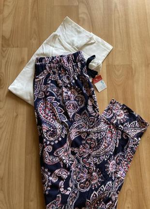Пижама хлопковая 🍓🍓🍓 брюки футболка primark