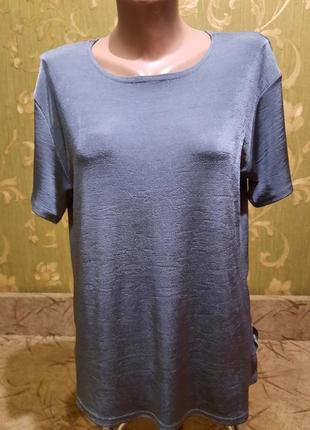 Шикарная базовая футболка большого размера