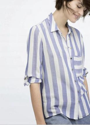 Актуальная рубашка от zara
