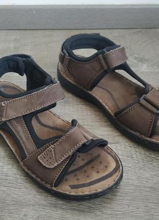 Отличные сандали-босоножки gosoft 42,5-43р 27,5-28см