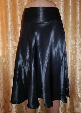 🌹🌹🌹черная классическая расклешенная женская короткая юбка new look🌹🌹🌹