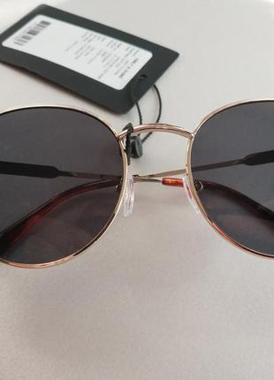 Солнцезащитные очки  панто  унисекс датского бренда only&sons европа оригинал8 фото
