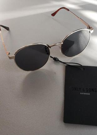 Солнцезащитные очки  панто  унисекс датского бренда only&sons европа оригинал1 фото